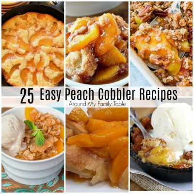 Easy Peach Cobbler Recipes