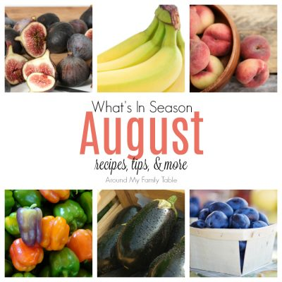August — What's In Season Guide