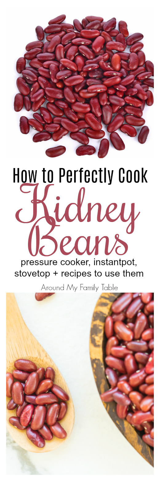 Everything you've wanted to know about Kidney Beans. This How to Cook: Kidney Beans guide features instructions on using a pressure cooker, instant pot, and stovetop for cooking kidney beans plus there are a few delicious recipes to try as well.