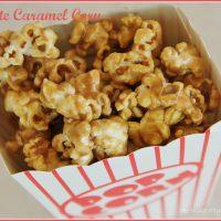 5 Minute Caramel Corn