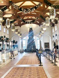 Christmas Tree at Coronado Springs