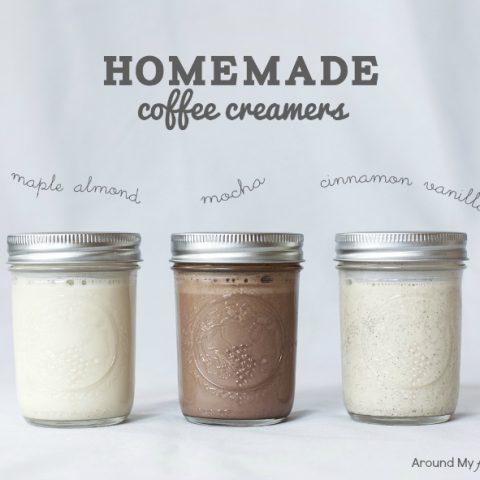 Homemade Coffee Creamers