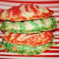 Christmas Buttercrisp Cookies