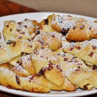 Nutella and Bacon Crescent Rolls