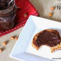 Homemade Dairy Free Hazelnut Spread (Nutella)
