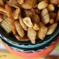 Slow Cooker Snack Mix
