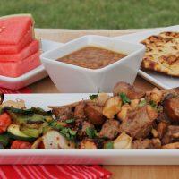 Summer Marinated Mixed Grill Kabobs