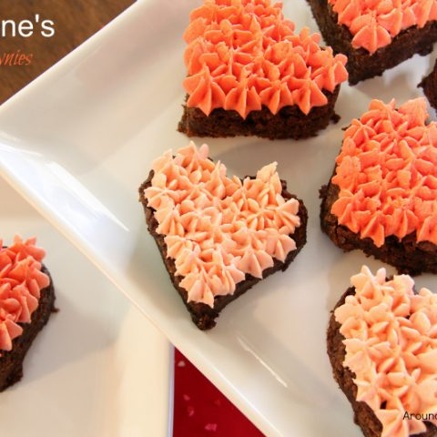 Valentine's Brownies (Gluten-Free Brownies)