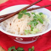 Asian Sweet and Spicy Noodle Bowl