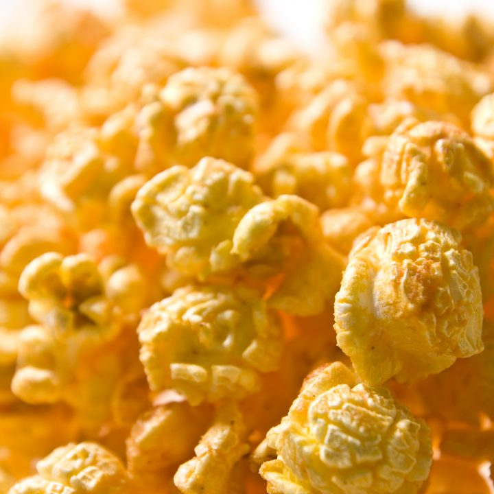 Curry Spiced Homemade Popcorn