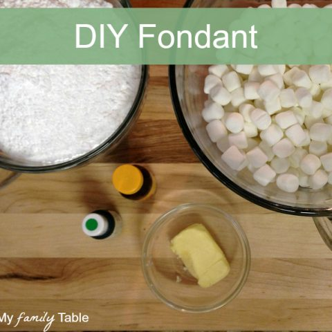 How to Make Homemade Fondant (plus a video)