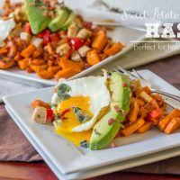 Sweet Potato and Turkey Hash