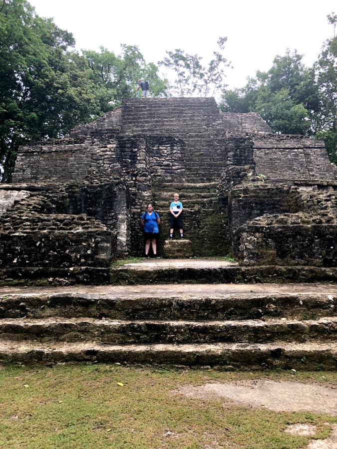 the Mask Temple, Lamanai
