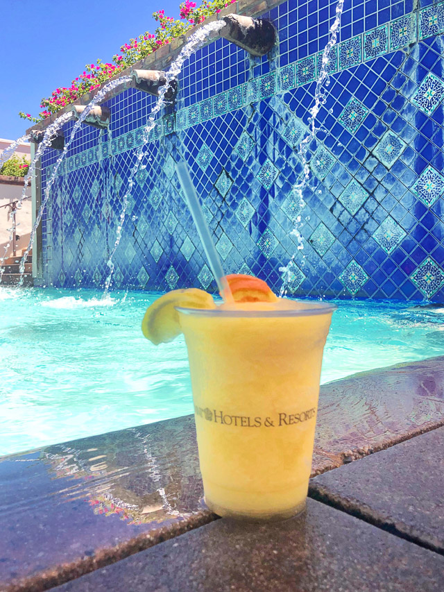 Peachy Passion Freeze at Omni Resort
