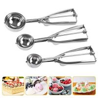 Cookie Scoop Set, Stainless Steel Cookie Scoops
