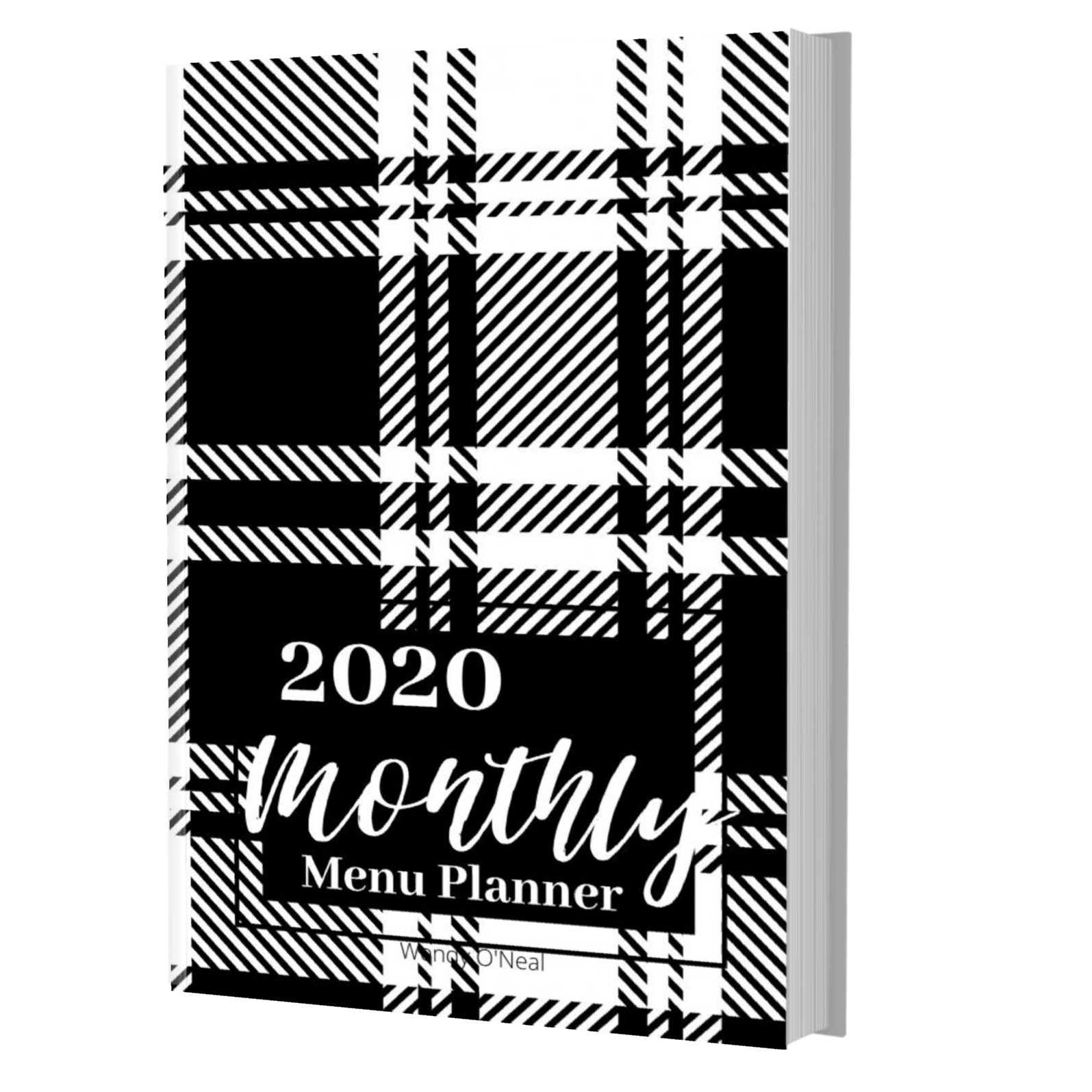Don't let busy schedules keep you from planning healthy meals for your family. Get a handle on menu planning, shopping, and recipe list with this black & white 6 x 9 Menu Planner. Order your menu planning journal TODAY.