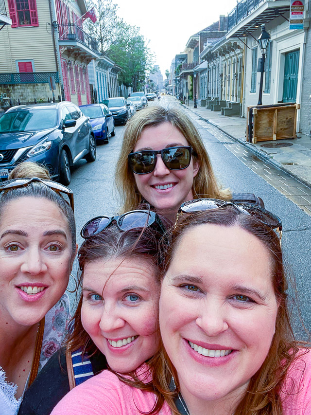 Girls Trip to New Orleans, Bourbon Street