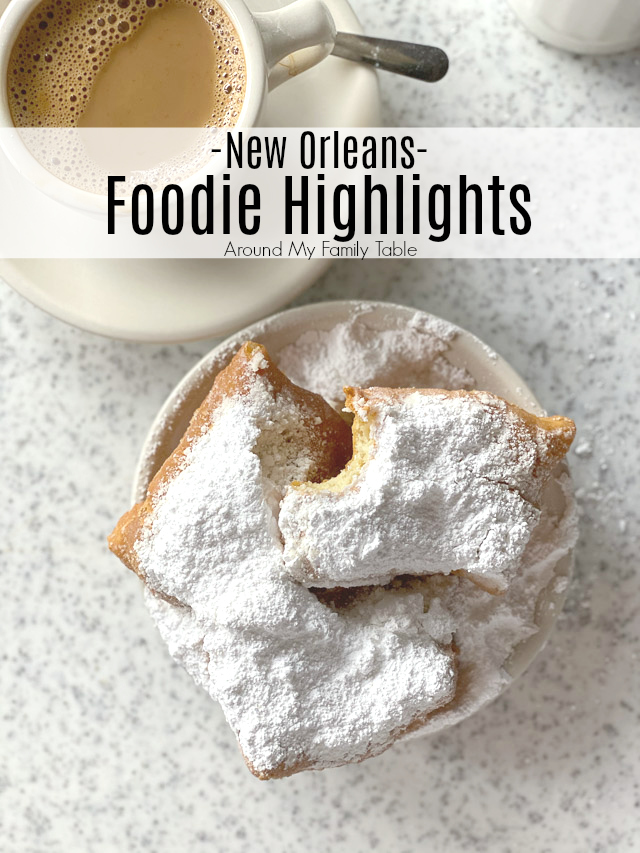 New Orleans Food Highlights -- New Orleans has a ton of amazing food so I created my own New Orleans food tour, mostly in the French Quarter and I'm excited to share everything with y'all.