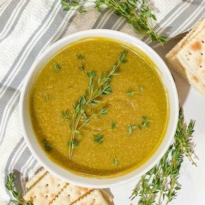 Classic Split Pea Soup