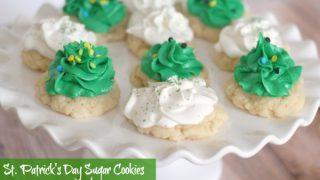 Gluten-Free St. Patrick's Day Sugar Cookies