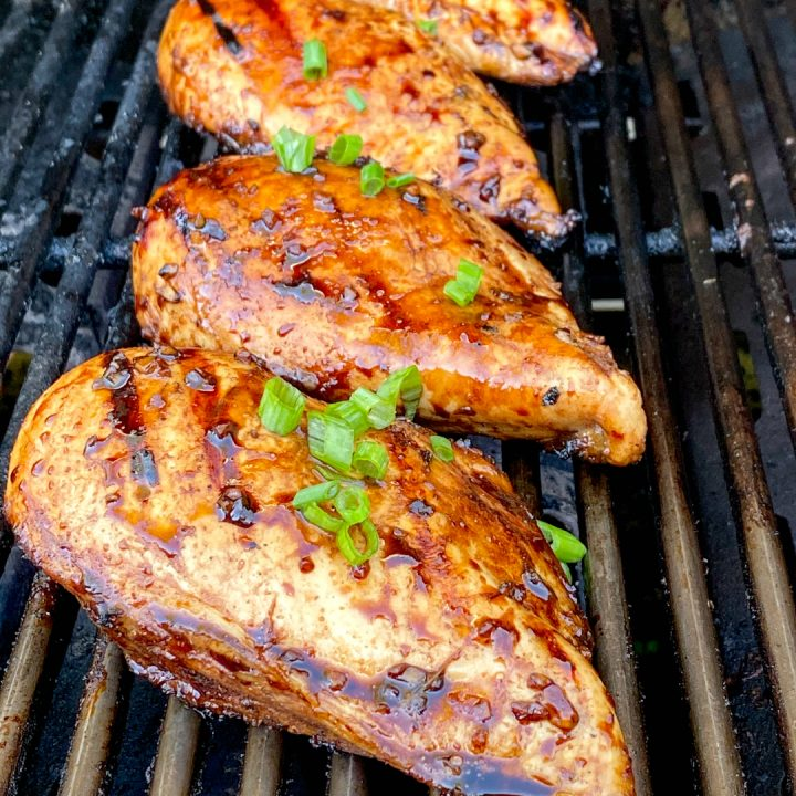 Balsamic Marinated Chicken...on the grill