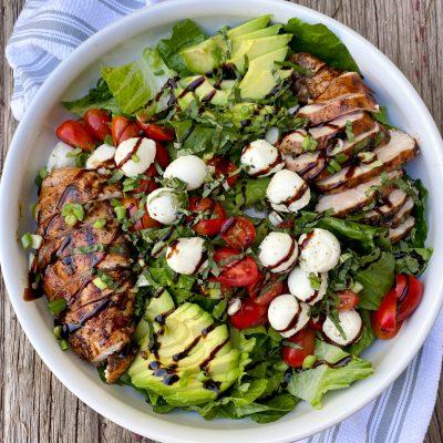 Italian Grilled Chicken Salad