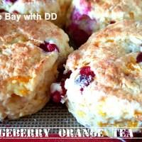 Partridgeberry Orange Tea Biscuits