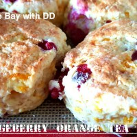 Partridgeberry Orange Tea Biscuits