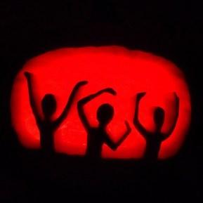 It was a very V-C-U Halloween.