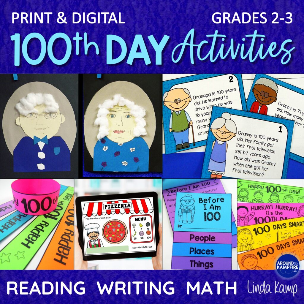 100th Day Activities For 2nd Grade And 3rd Grade