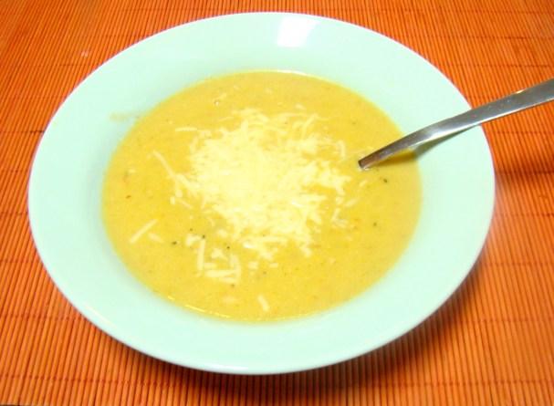 Argentine Humita and Cauliflower Soup