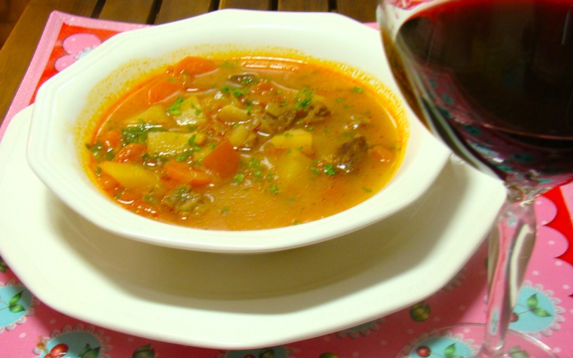 Hungarian Gulyás - The Stew Soup