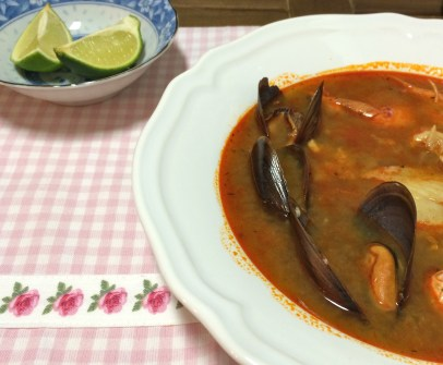 Parihuela - Peruvian Seafood and Fish Spicy Soup