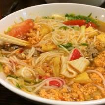 Bun Cha - Crab Soup, Bonjour Vietnam restaurant, Warsaw