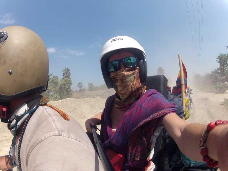 Beating Indian roads with a Royal Enfield 500cc