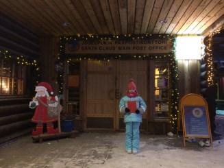 Joulupukin Pääposti also know as Santa Claus Post Office at the Santa Holiday Village in Rovaniemi, Finland