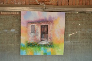 Painting by Alex Fumagalli, an artist from Comacchio, Italy