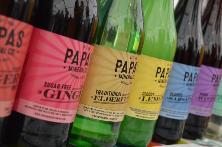 Papas Mineral Company at the Festival Lough Erne
