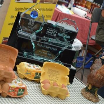 Award winning Cavanagh Free Range Eggs at Festival Lough Erne