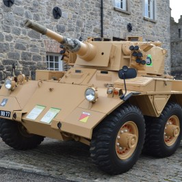 Artillery vehicle at Enniskillen Castle