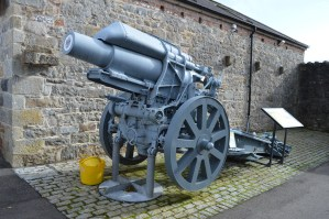 Heavy artillery at Enniskillen Castle