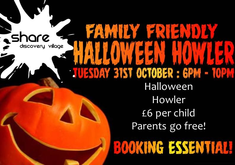 Halloween Howler at the Share Village