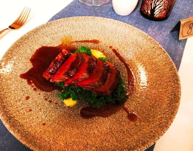 Fine Dining at Carleton Restaurant at Corick House Hotel