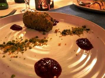 Dessert at Carleton Restaurant at Corick House Hotel