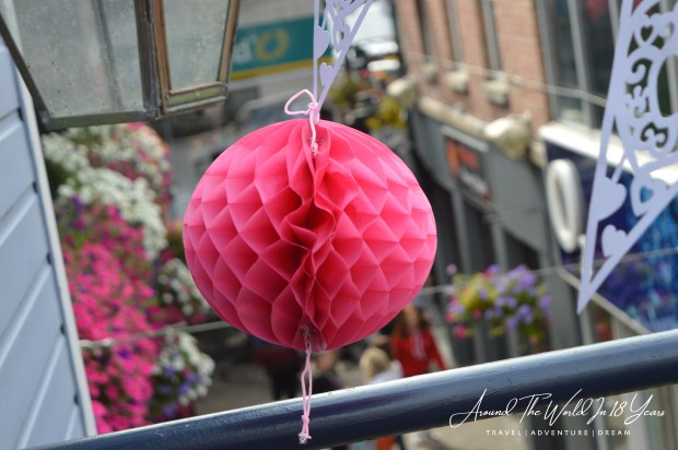 Omagh Food Festival - vibrant decorations