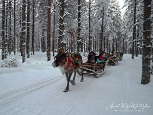 Santa Claus Holiday Village - Reindeer Sleigh Ride