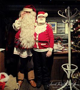 Santa Claus at the Santa Claus Holiday Village