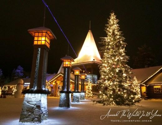 Santa Claus Holiday Village