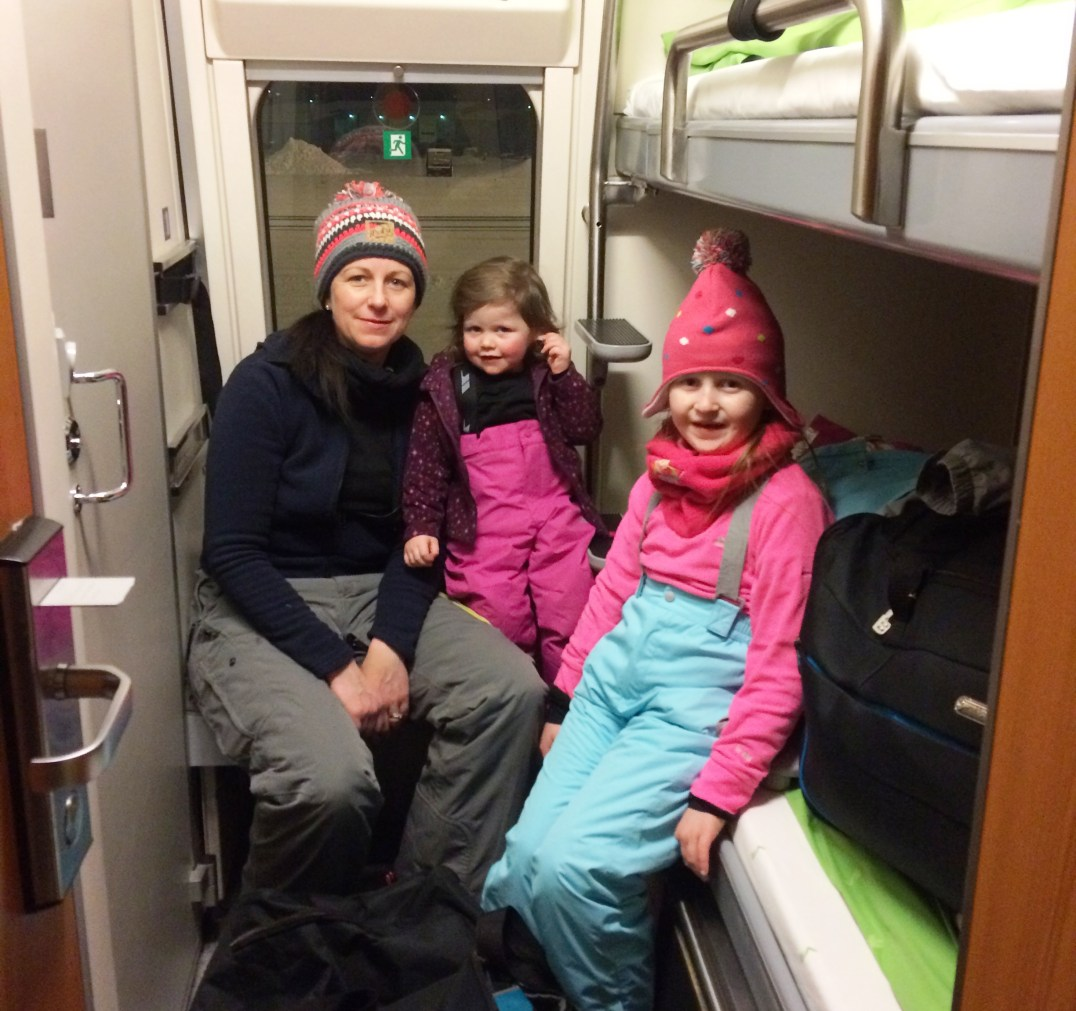 Santa Claus Express Night Train from Helsinki to Rovaniemi
