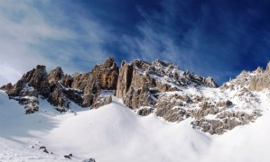 A view of the UNESCO Dolomites from Ski Center Latemar in the Val di Fiemme